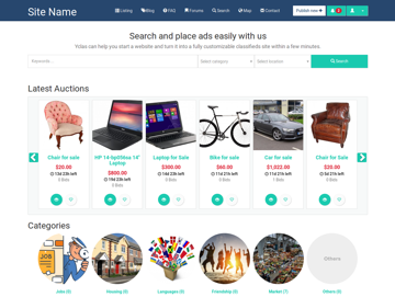 Auction Create A Free Classifieds Marketplace Site